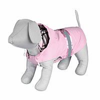 Пальто Trixie Como Coat для собак розовое, с паетками 33 см