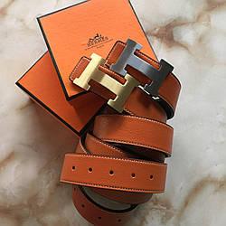 Пояс Hermes кожаный ремень Гермес новый в коробке