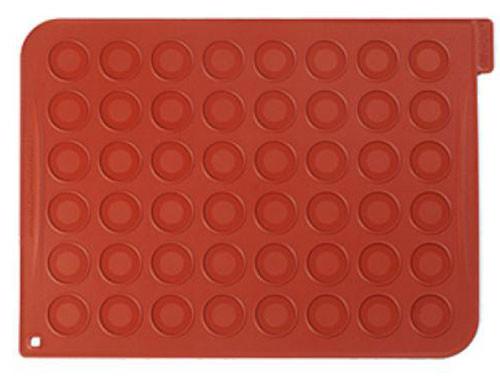 Силиконовый коврик Silikomart для макаронс 30x40 см Италия - 06616