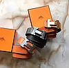 Пояс Hermes кожаный ремень Гермес новый в коробке, фото 3