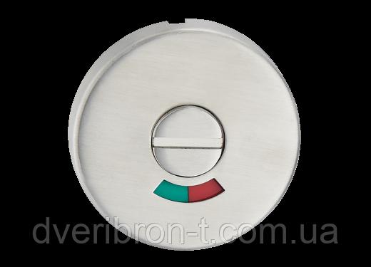 Накладка дверная под WC с индикатором (красн./зелен.) T11i SS