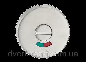 Накладка дверная под WC с индикатором (красн./зелен.) T11i SS, фото 2