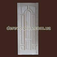 Двери из массива дерева 80см (глухие) f_1280