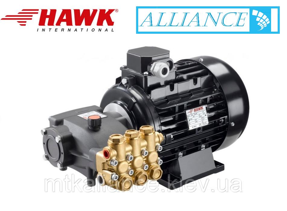 Апарат високого тиску HAWK 15/20 + двигун 5,5 кВт, Моноблок ( спарка )