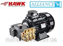 Аппарат высокого давления HAWK 15/20 + мотор 5,5 кВт, Моноблок ( спарка )