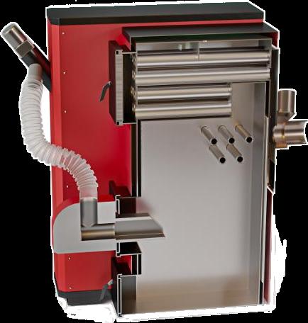 Пеллетный твердотопливный котел SWaG-Pellets 25 кВт, фото 2