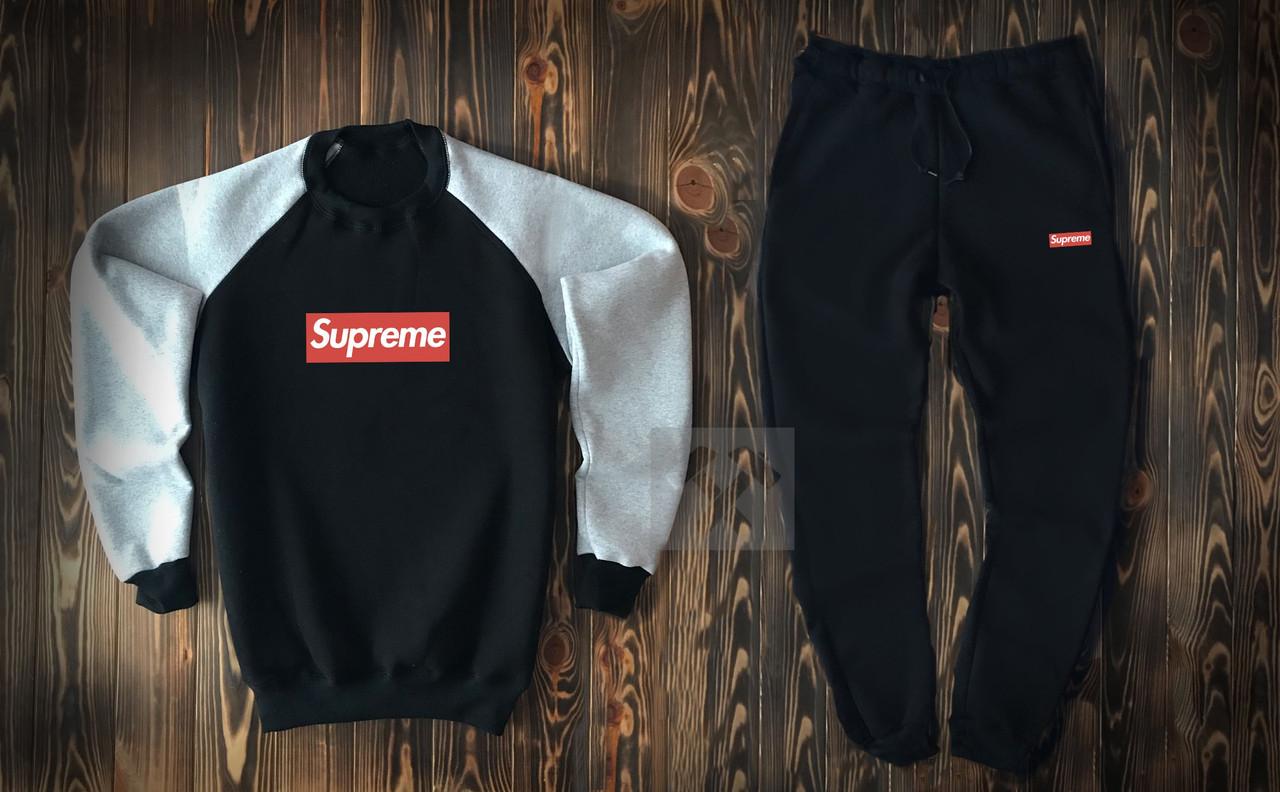 Спортивний костюм з принтом чоловічий   Комплект світшот + штани ЛЮКС якості
