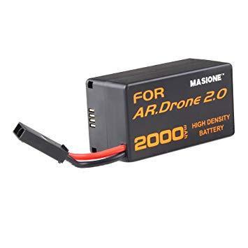 Parrot AR Drone 2.0 усиленная батарея 1800mAh (2000mAh)