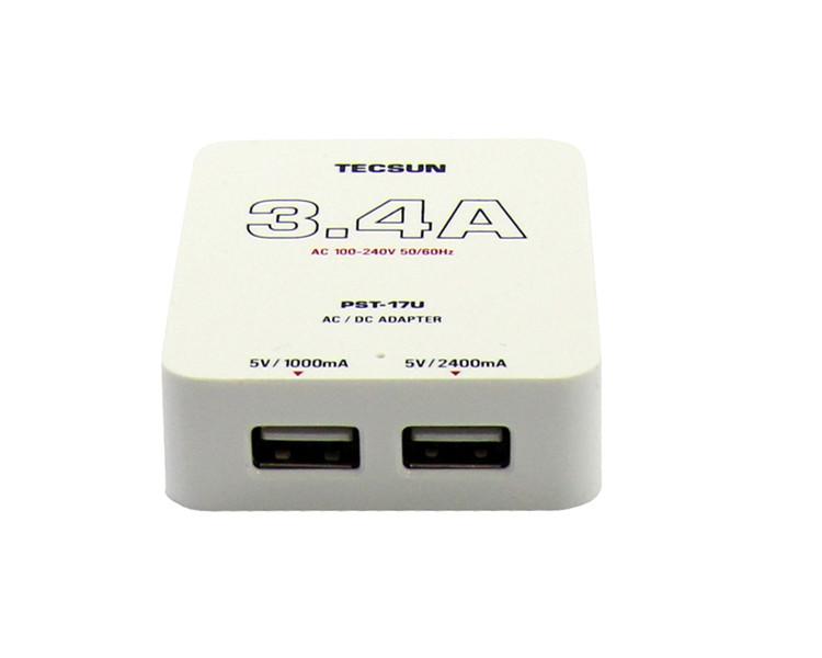 Потужний зарядний TECSUN PST-17U Dual USB