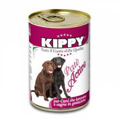 Паштет Kippy Dog Active для активных собак с курицей, 1250 г