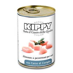 Консервы Kippy Dog для собак с кусочками кролика, 400 г