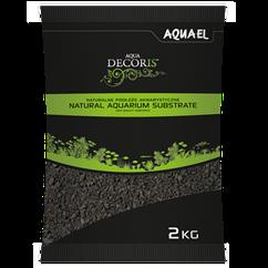 Грунт Aquael Basalt для аквариума базальтовый 2-4 мм, 2 кг (114040)