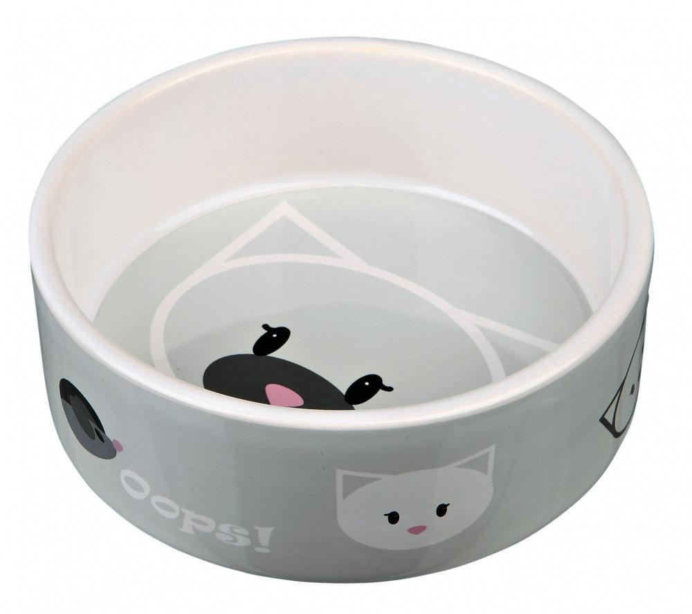 Миска Trixie Mimi Ceramic Bowl для кошек, керамика, 0.3 л