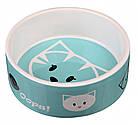 Миска Trixie Mimi Ceramic Bowl для кошек, керамика, 0.3 л, фото 2