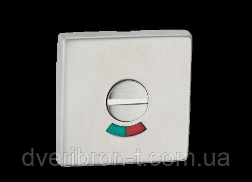 Накладка дверная под WC с индикатором (красн./зелен.) T12i SS