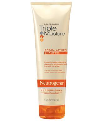 Увлажняющий крем-шампунь для волос Neutrogena Triple Moisture Cream Lather Shampoo