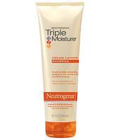 Увлажняющий крем-шампунь для волос Neutrogena Triple Moisture Cream Lather Shampoo, фото 1
