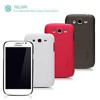 Чехол для Samsung Galaxy Grand Duos i9082 - Nillkin Super Frosted Shield (пленка в комплекте)