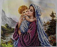 "Картина из бисера ""Мадонна"" (ручная работа), 450"