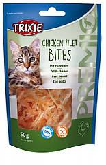 Лакомство Trixie Premio Chicken Filet Bites для кошек с курицей, 50 г
