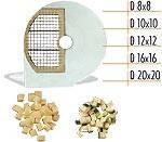 Диск для нарезки кубиками 20 мм D20x20 SX к овощерезке Celme CHEF