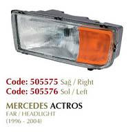 Фара Mercedes Actros