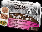 Консервы Zoe Tempting Trios для собак с лососем и курицей, 100 г, фото 2