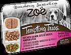 Консервы Zoe Tempting Trios для собак с лососем и курицей, 100 г, фото 3