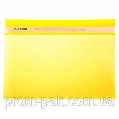 Папка скоросшиватель Economix  31511-05 желтая