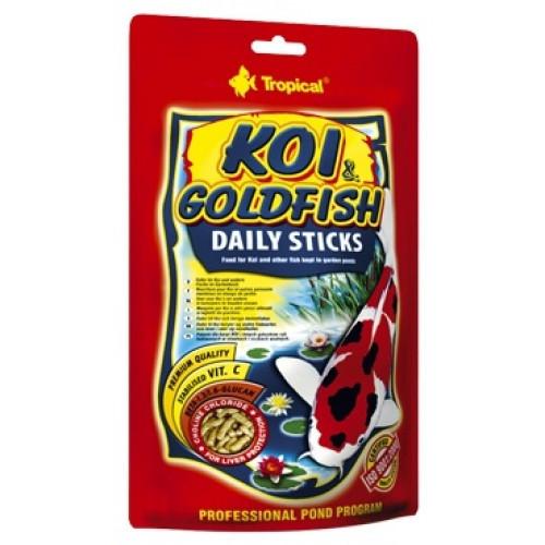 Tropical Koi & Gold Deily Sticks корм для прудовых рыб в палочках, 5 л