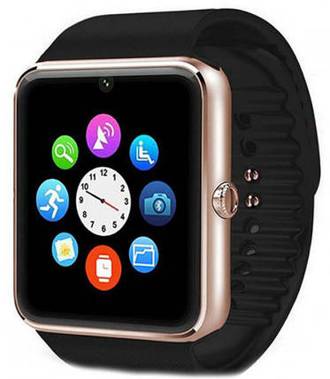 Часы Smart Watch GT08 Gold Гарантия 1 месяц, фото 2