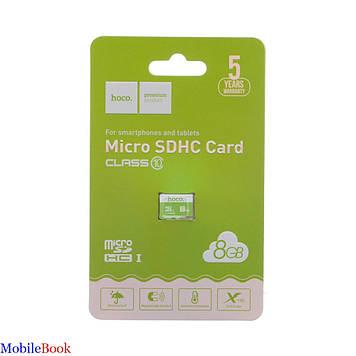 Карта памяти Hoco MicroSDHC 8GB