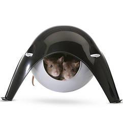 Домик для грызунов Savic Sputnik (Спутник), пластик 21,5х21,5х12,5 см