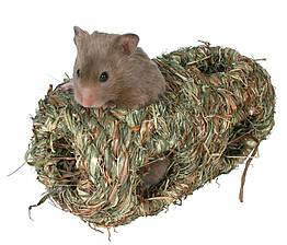 Гнездо Trixie Grass Nest для грызунов двойное, 10х19 см