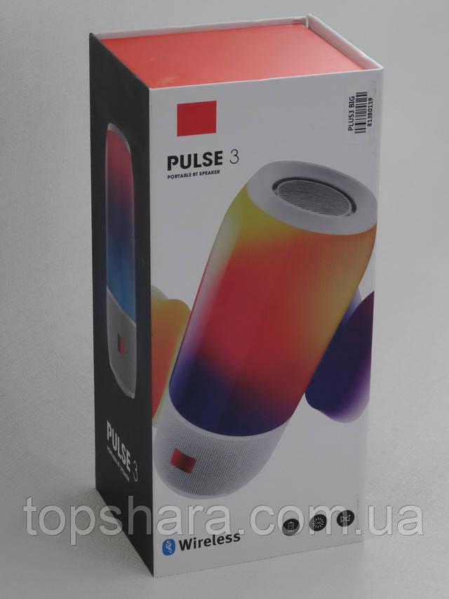 Колонка портативная беспроводная JBL Pulse 3, Bluetooth ЖБЛ пульс
