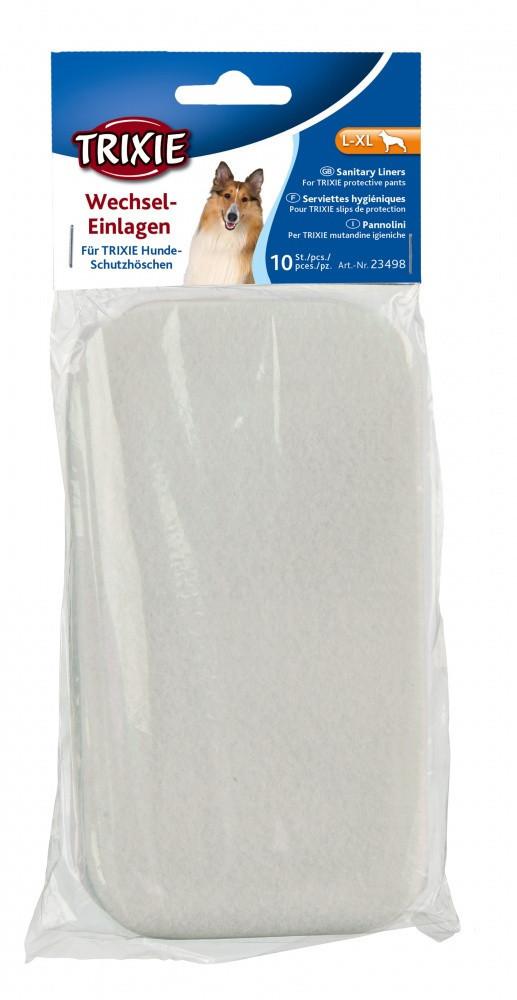 Прокладки гигиенические Trixie Pads for Protective Pants для собак L-XL, 10 шт