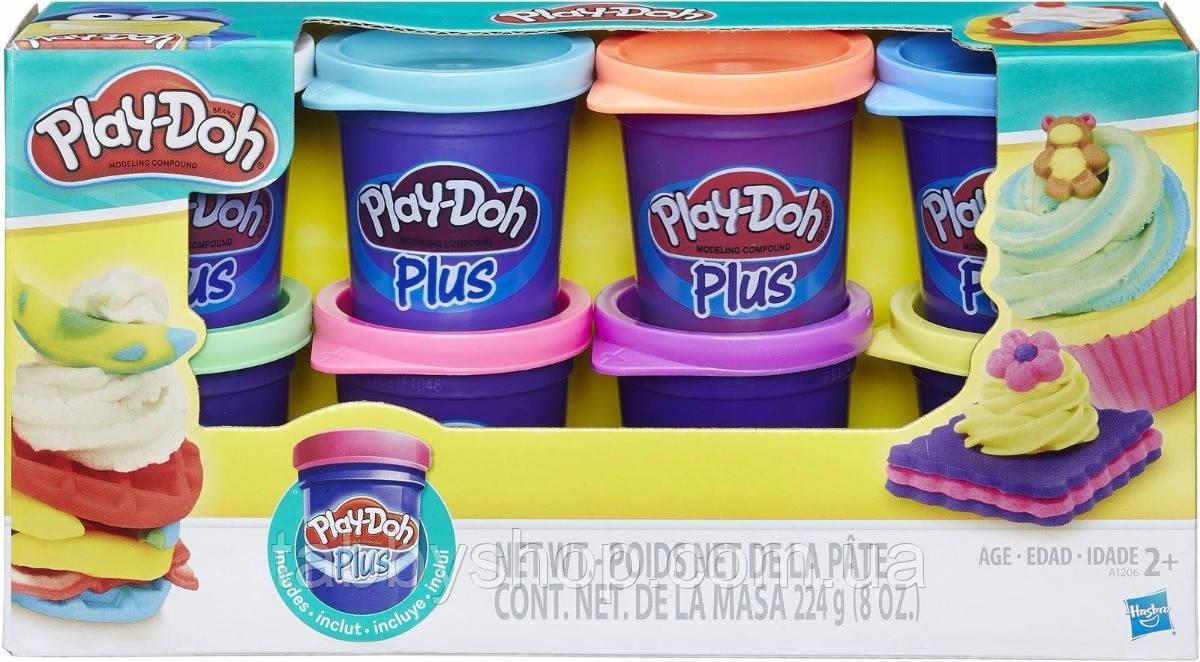 Набор пластилина 8 баночек HASBRO Play Doh