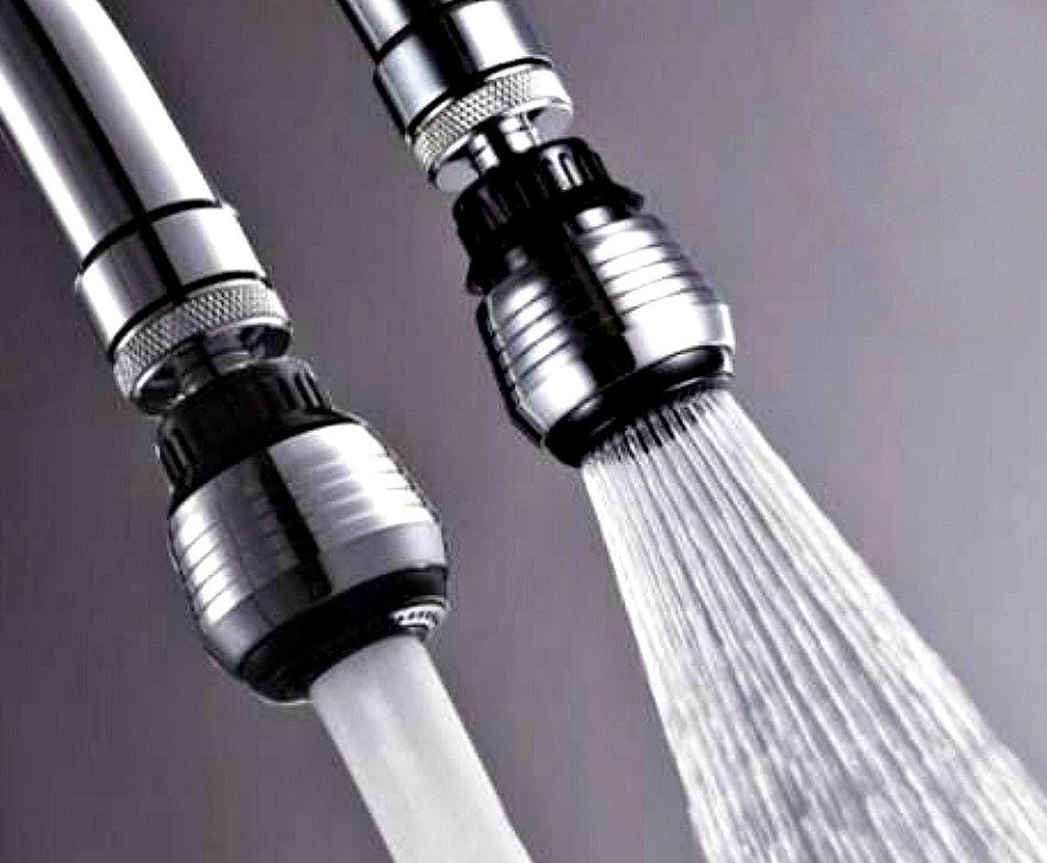 Насадка на кран экономитель воды Water Saver, экономитель воды аэратор water saver, Распродажа