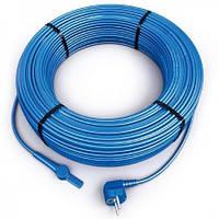 Нагревательный кабель со встроенным термостатом Hemstedt FS 5 м 10 Вт/м для обогрева трубопроводовов