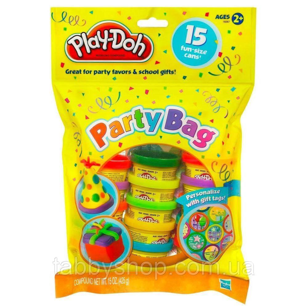 Набор пластилина для праздника из 15 мини-баночек HASBRO Play Doh