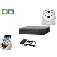 Комплект видеонаблюдения UDC IP-Kit1.2 . Комплект видеонаблюдения на 2 камеры для дома, офиса и дачи