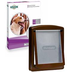 Дверца Staywell Original для собак крупных пород, 456х386мм коричневая