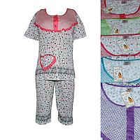 QT3-1. Женская котоновая пижама оптом со склада на 7км.