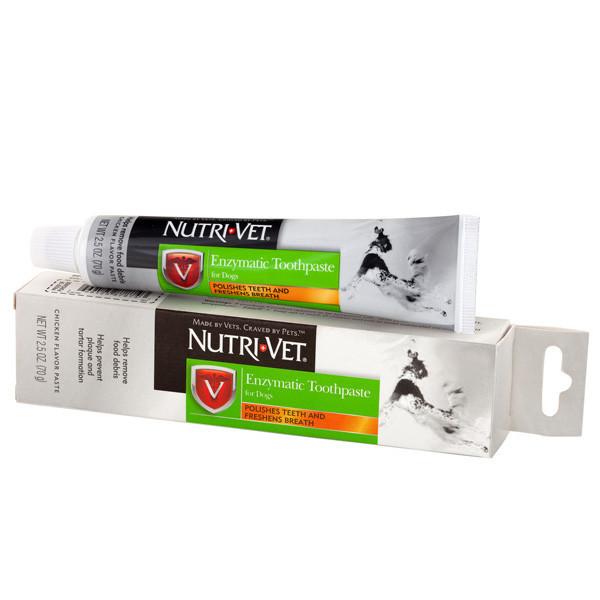 Nutri-Vet Enzymatic Toothpaste зубна паста для собак, 70 г