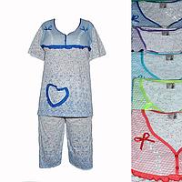 Женская котоновая пижама QT37 оптом со склада на 7км.
