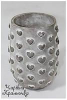 Керамическая ваза Сердца