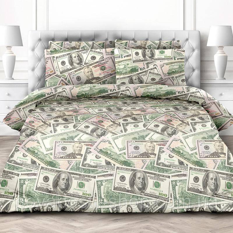 Доллары, постельное белье из поплина (100% хлопок)
