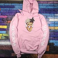 Худи xxxtentacion Pink • Все размеры • Топ качество • Хайповый бренд •