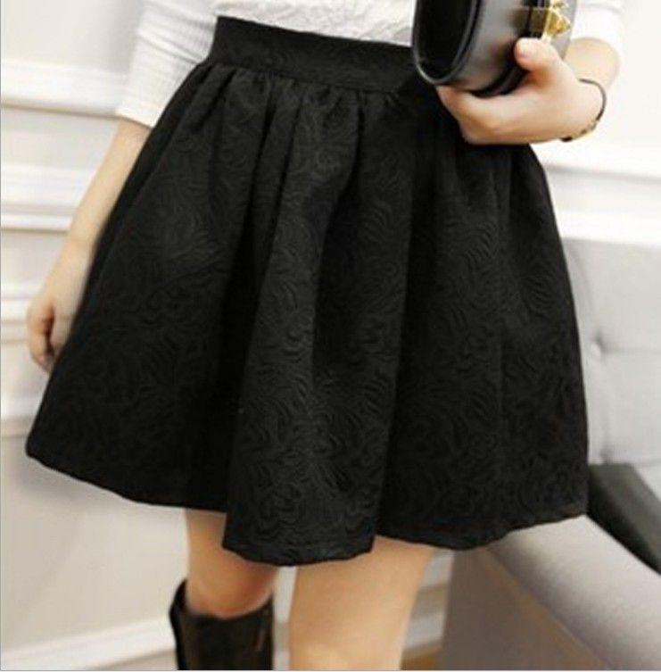 Короткая женская юбка куколка, фото 1