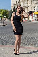 Платье Vikifo  Линда s-m черное (п 229)